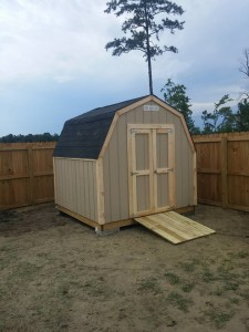 Pine Shed Installation